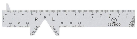 Multipurpose PD Optical Ruler for Reading Pupil Distance Meter Eye Ophthalmic 400410